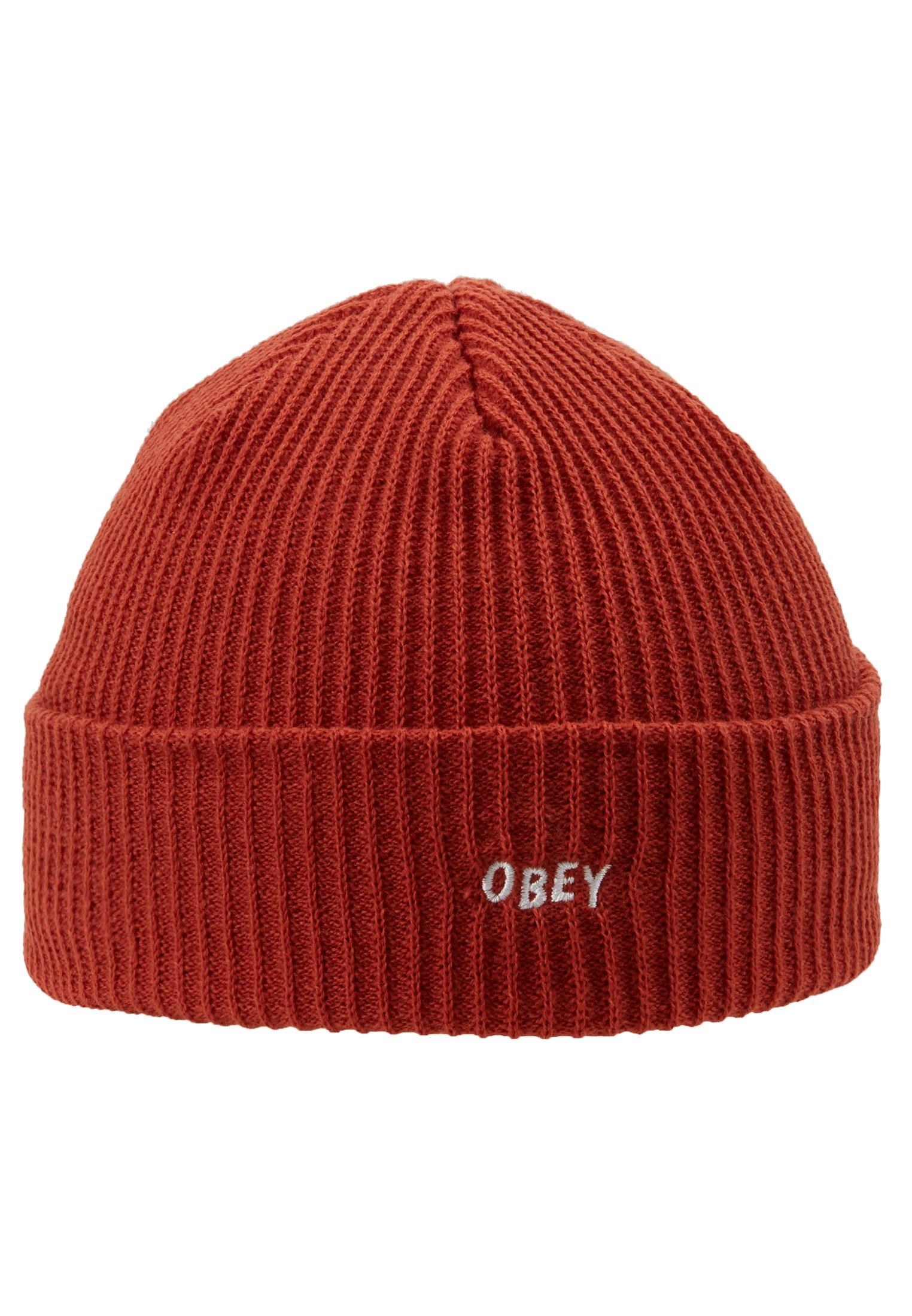 Obey Clothing Hangman Beanie - Mütze Black/schwarz