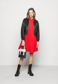 Steffen Schraut - EXCLUSIVE BLOUSE DRESS - Shirt dress - flash red - 1