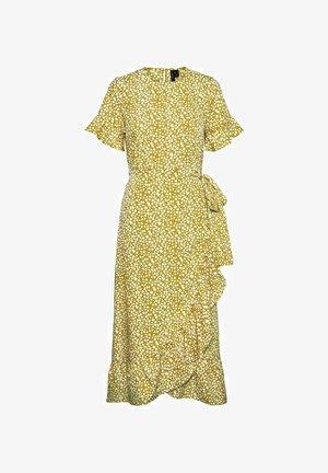 Sukienka letnia - nugget gold