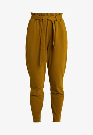 Trousers - dark ocher
