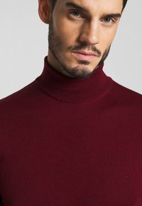 Casual Friday - Jumper - wine red - 3