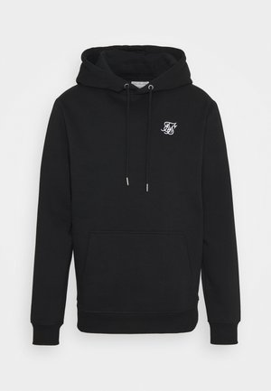 MUSCLE FIT OVERHEAD HOODY - Mikina - black