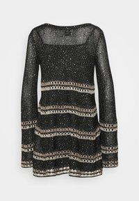 M Missoni - DRESS - Jumper dress - black - 1