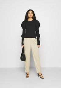 ALIGNE - DAPHNE - Trousers - sand - 1