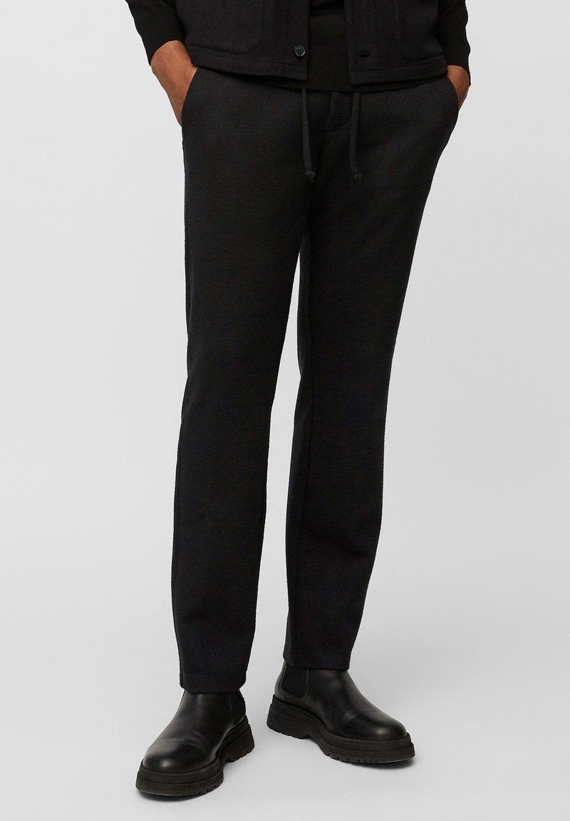 Marc O'Polo - Tracksuit bottoms - black