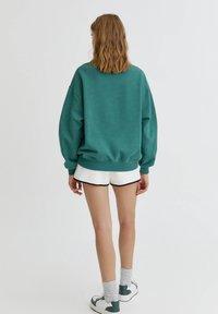 PULL&BEAR - Bluza - green - 2