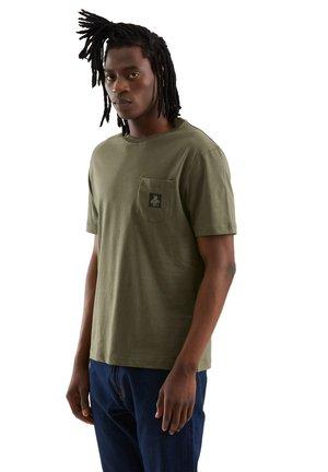 PIERCE PER UOMO - Basic T-shirt - verde oliva