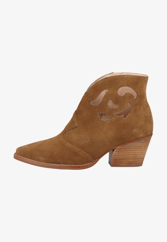 Korte laarzen - cuero