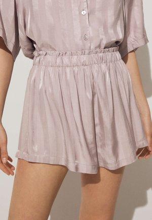 JACQUARD - Pantaloni del pigiama - mauve