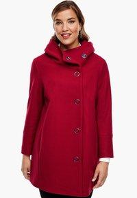 Triangle - Short coat - dark red - 0