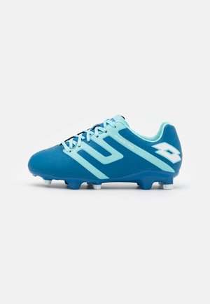 MAESTRO 700 IV FG JR UNISEX - Moulded stud football boots - mykonos blue/blue paradise/all white