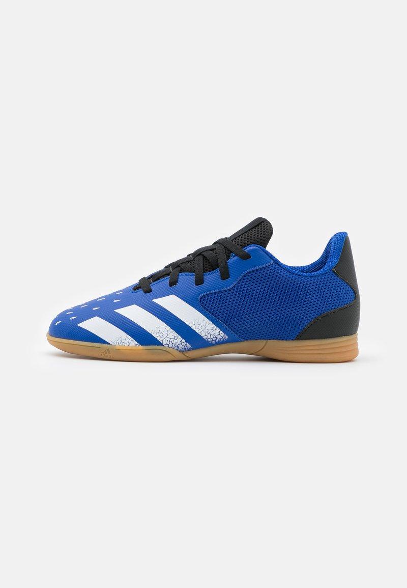 adidas Performance - PREDATOR FREAK 4 IN SALA UNISEX - Indoor football boots - royal blue/footwear white/core black
