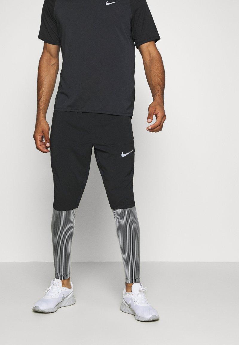 Nike Performance - ELITE - Pantalones deportivos - black/reflective silver