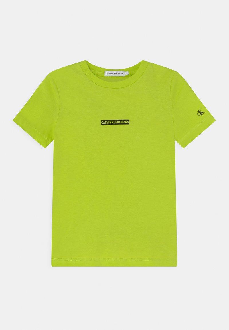 Calvin Klein Jeans - MICRO LOGO - T-Shirt print - acid lime