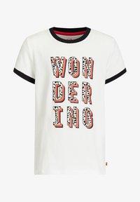 WE Fashion - Camiseta estampada - white - 3