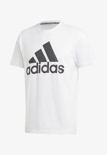 Must Haves Badge of Sport Tee - Print T-shirt - white