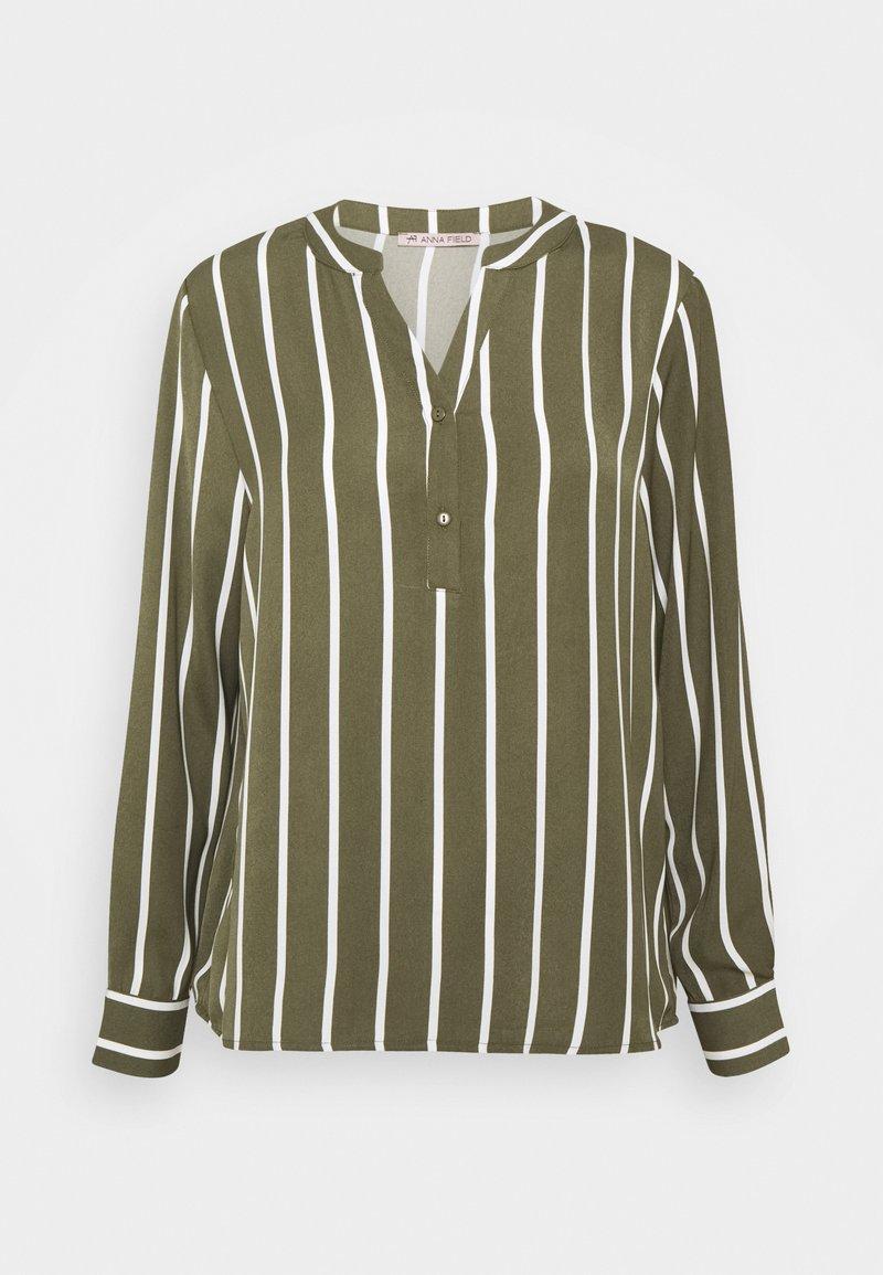 Anna Field - T-shirt à manches longues - khaki