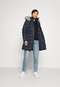 Tommy Hilfiger - TH ESS TYRA  - Down coat - desert sky - 1
