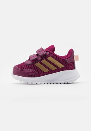TENSAUR RUN UNISEX - Hardloopschoenen neutraal - power berry/copper metallic/pink tint