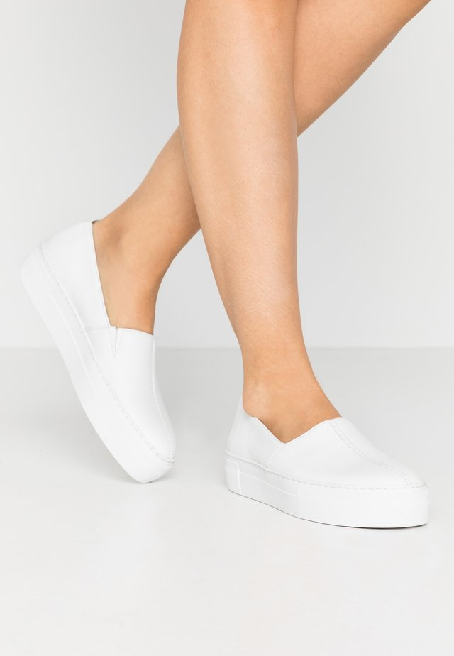 Mocasines - white
