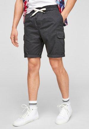 REGULAR FIT - Shorts - dark grey