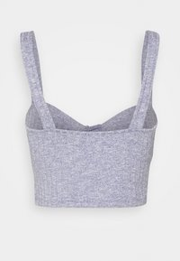 Monki - NINNI SINGLET - Top - light purple melange - 1