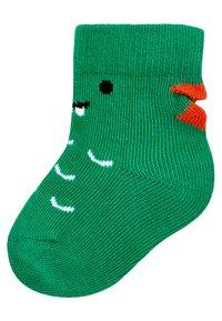 Next - 5 PACK DINOSAUR  - Socks - green - 4