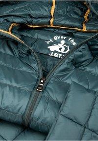 JOTT - CLOE - Gewatteerde jas - bleu petrole - 6