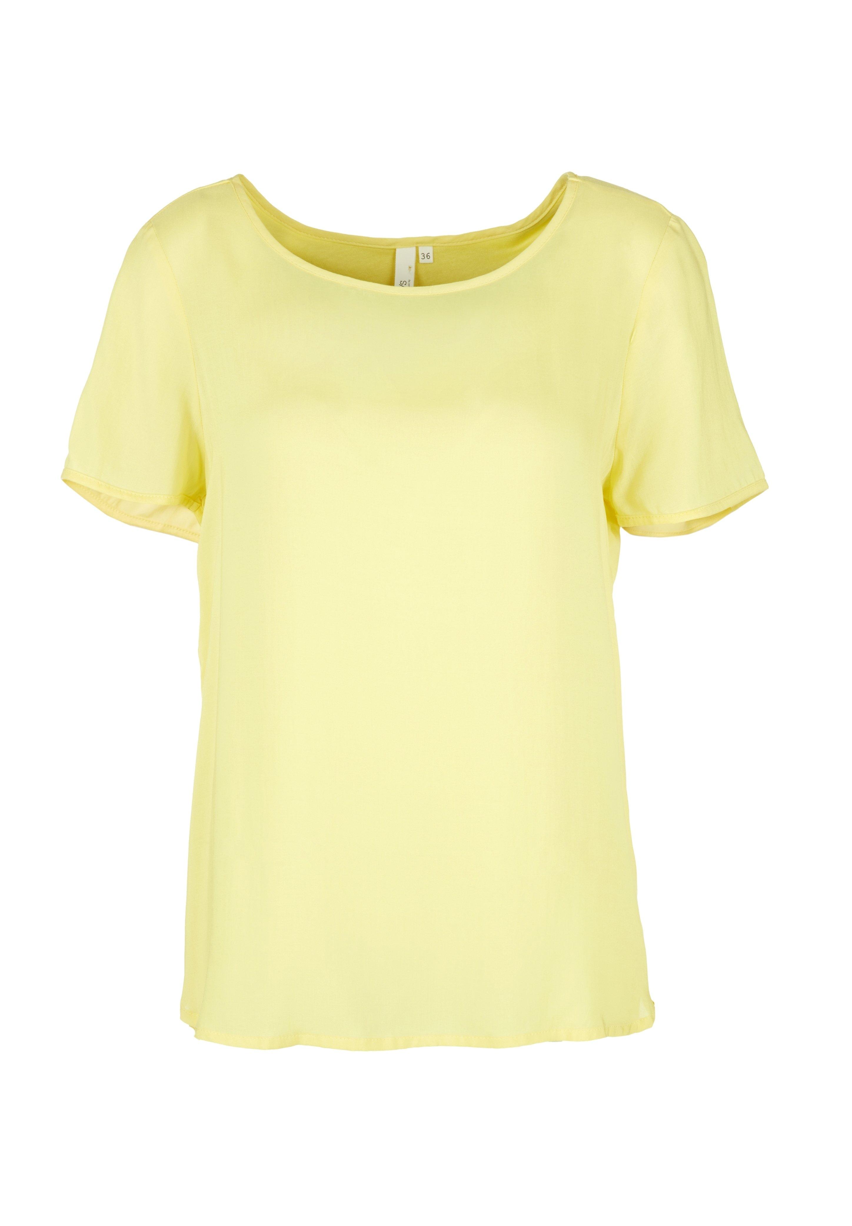Damen BLUSE - KURZE ÄRMEL - T-Shirt basic