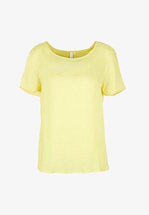 BLUSE - KURZE ÄRMEL - T-shirt basic - lemon sorbet