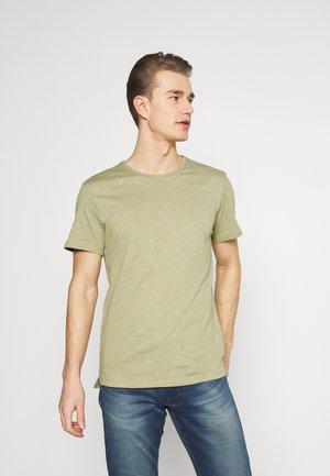 GRANT CREW NECK - T-shirt - bas - light green