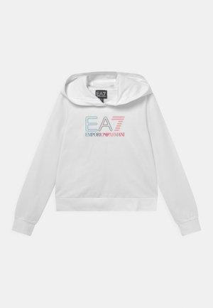 EA7 GIRL - Sweatshirt - white
