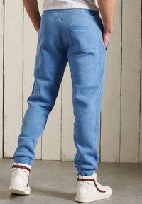 Superdry - ORANGE LABEL CLASSIC  - Tracksuit bottoms - bright blue grit - 1