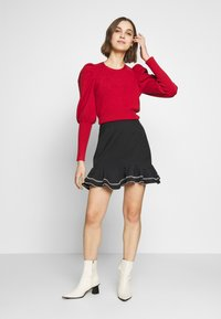 CMEO COLLECTIVE - AFFINITY SKIRT - A-line skirt - black - 1