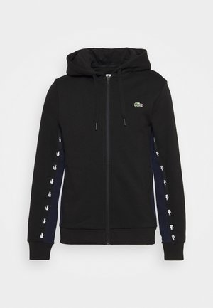 Sweatjacke - black/navy blue