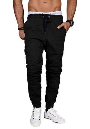 DESIGNER - Cargo trousers - schwarz