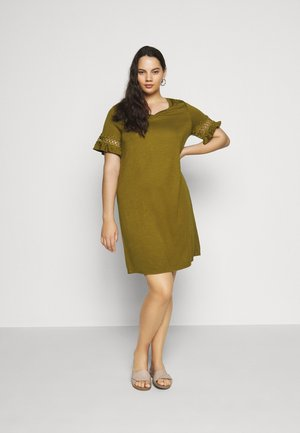 JRSALLY DRESS - Jersey dress - plantation