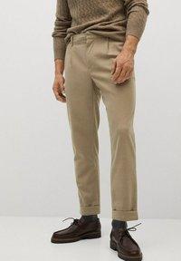 Mango - SIRHAN - Pantalones - beige - 0
