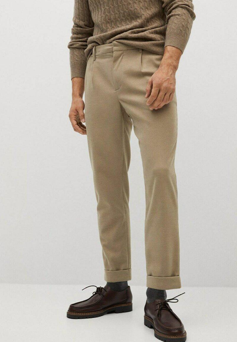 Mango - SIRHAN - Pantalones - beige