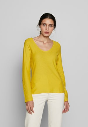 LONG SLEEVE - Topper langermet - dark yellow