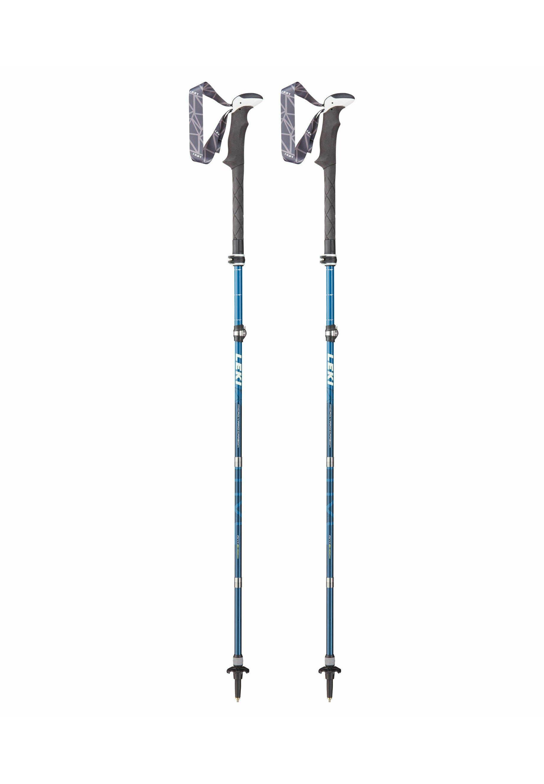 Herren MICRO VARIO CARBON ANTISHOCK - Ski/Snowboard Zubehör - blau