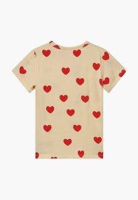 Mini Rodini - HEARTS TEE - T-Shirt print - offwhite - 1