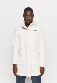 Columbia - PANORAMA LONG JACKET - Kurtka z polaru - chalk - 0