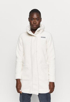 PANORAMA LONG JACKET - Fleecejakker - chalk