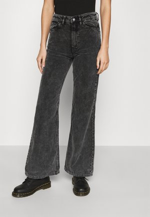 RITZ TROUSERS - Broek - washed black