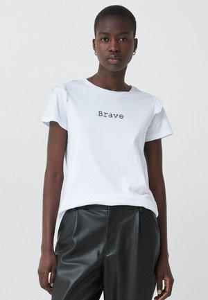 SAMARA - Basic T-shirt - weiß_0001