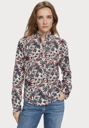 Button-down blouse - combo f