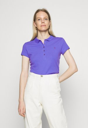 SHORT SLEEVE SLIM  - Polo shirt - blue