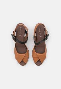 lilimill - Sandals - cognac - 5