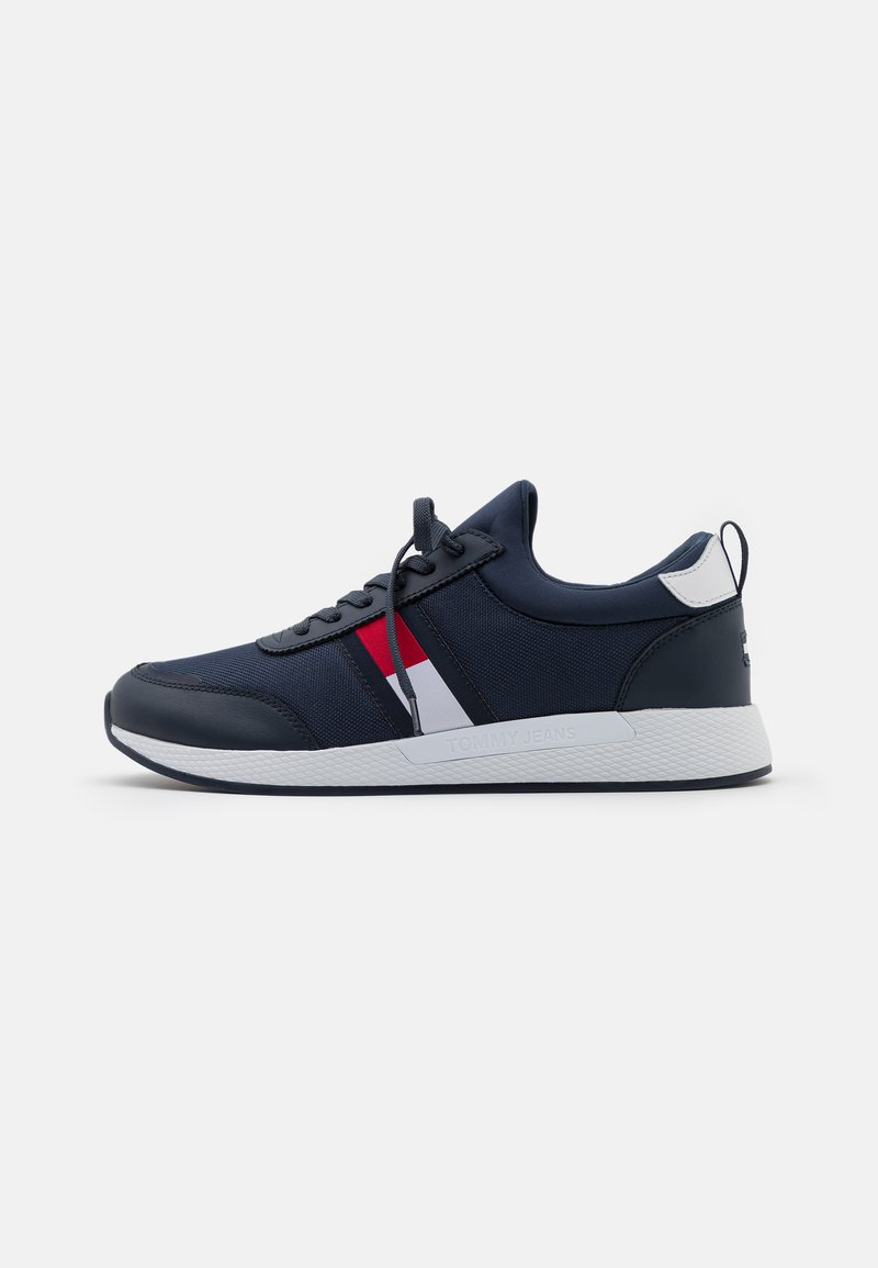 Tommy Jeans - FLEXI RUNNER - Trainers - twilight navy